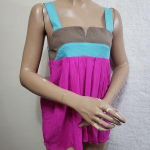 Alisha Levine Womens Blouse Tank Top Silk S